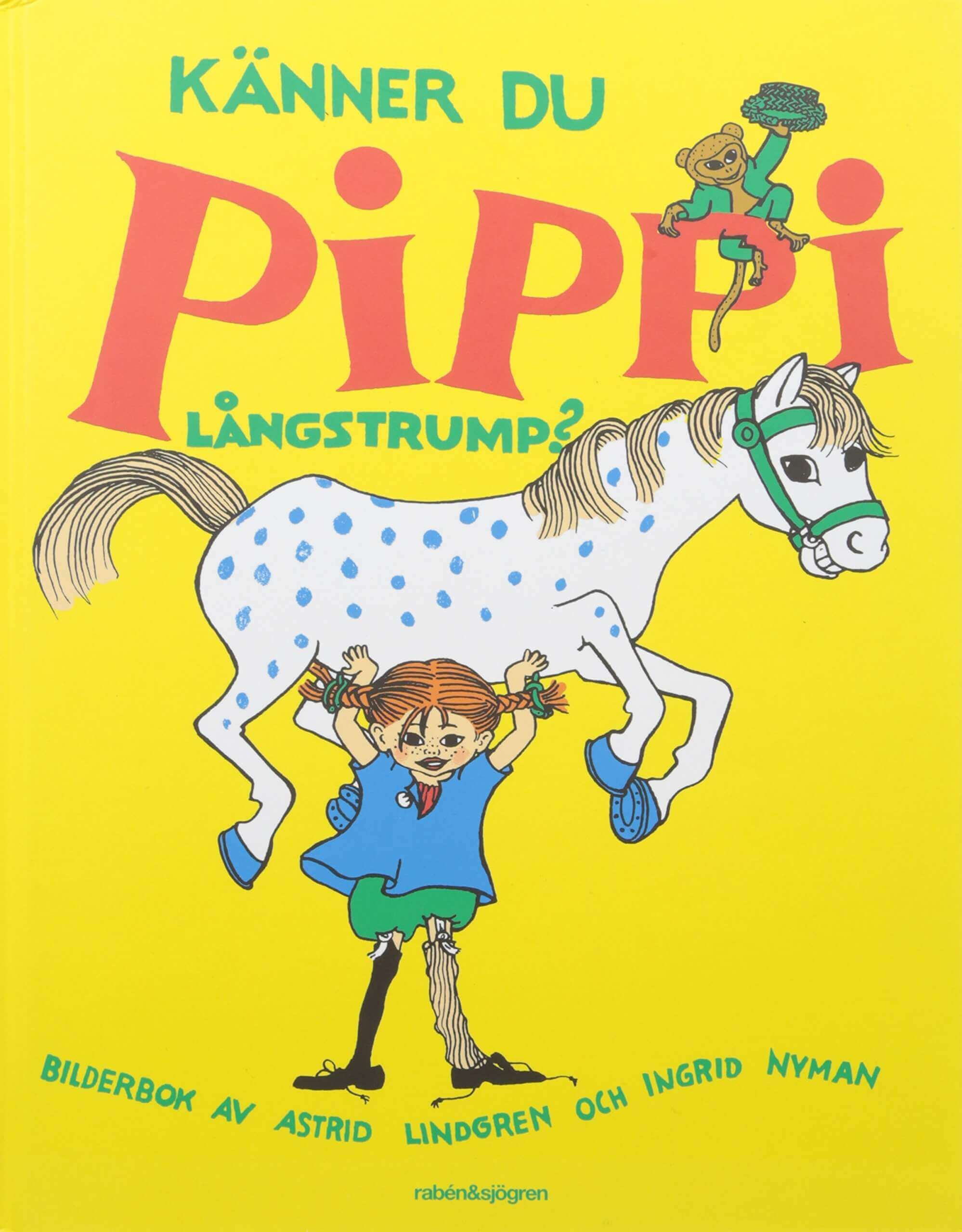 Pippi Långstrump av Astrid Lindgren. Pippis vänner var Tommy och Annika