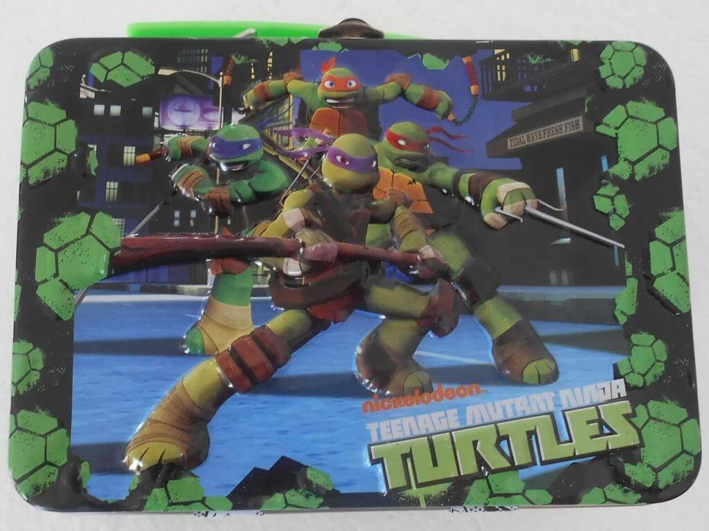Inte bara leksaker - Teenage Mutant Ninja Turtles som lunchbox