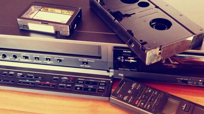 Video med VHS-kassetter